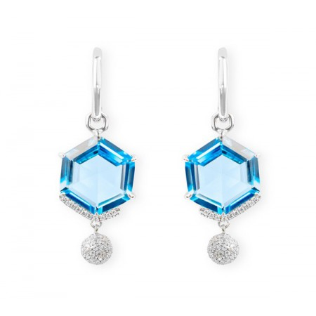 NICOL´S Pendientes Geometric Colorfull