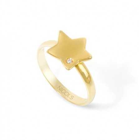 Anillo de Oro Estrella MINI DETAILS
