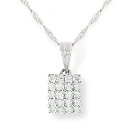Colgante Diamantes MINI SQUARE