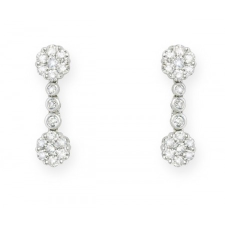 NICOL´S Pendientes Diamond Classic