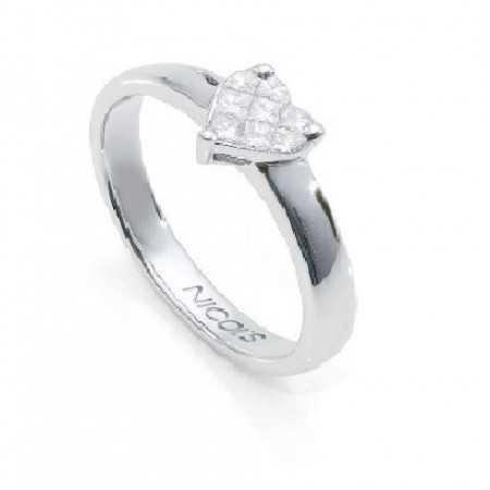 Anillo Diamantes LOVE