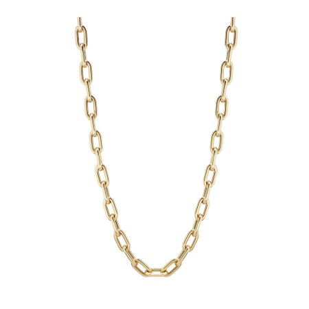 18kt Gold Chain LINK 60x10 50cm