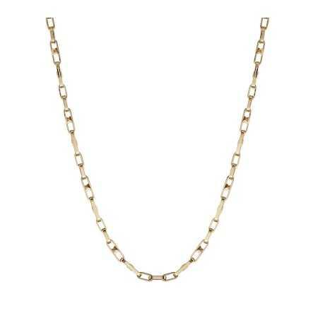 18kt Gold Chain BAR LINK 60cm