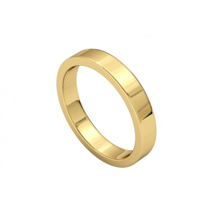 FREYA Yellow Gold Wedding Alliance