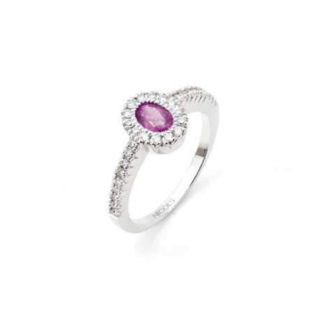 Anillo de Diamantes DIAMOND COLOR ORLA OVAL