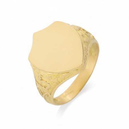 Sello Oro Escudo Grabado