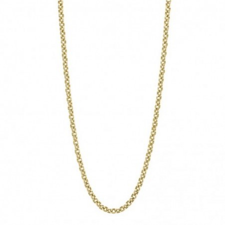 18kt Gold Chain OVAL LINK 8x6 70cm