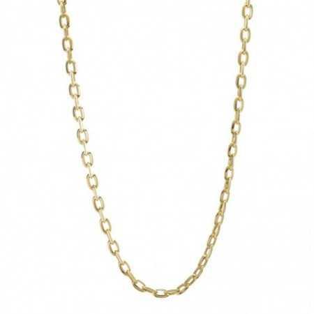 18kt Gold Chain BEZEL LINK 60cm