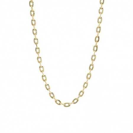 18kt Gold Chain BEVEL LINK 60cm