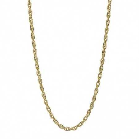 18kt Gold Chain TRIPLE LINK 60cm