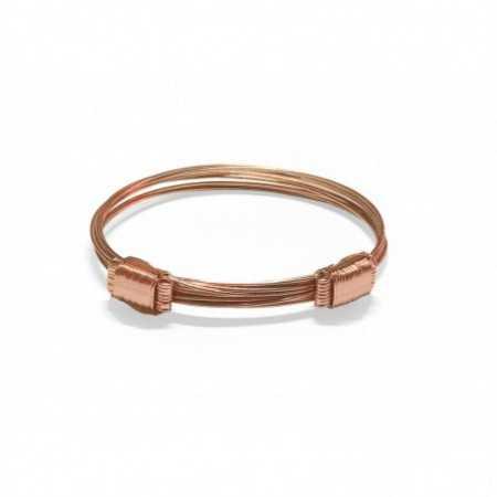Rose Gold Bracelet NUDO CORREDERA 8 HILOS