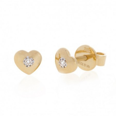 MINI DETAILS Heart Earrings