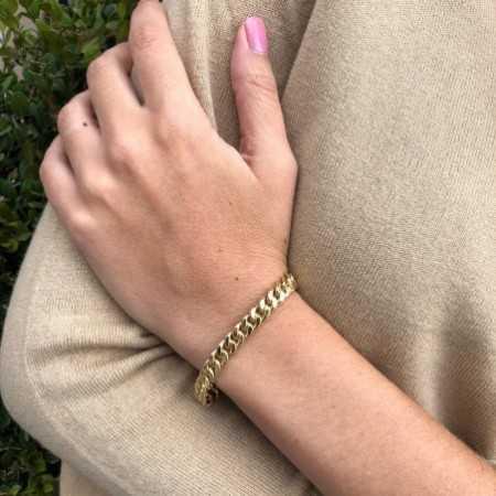 18kt Gold bracelet BASIC GOLD