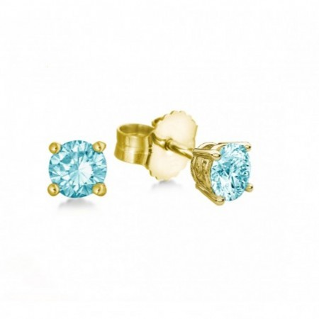 Earrings Bright Blue Dormilonas KATHERINE 1.00ct