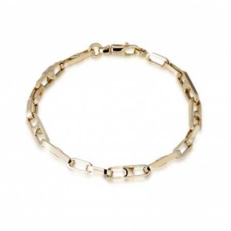 18kt Gold Bracelet LINK BAR