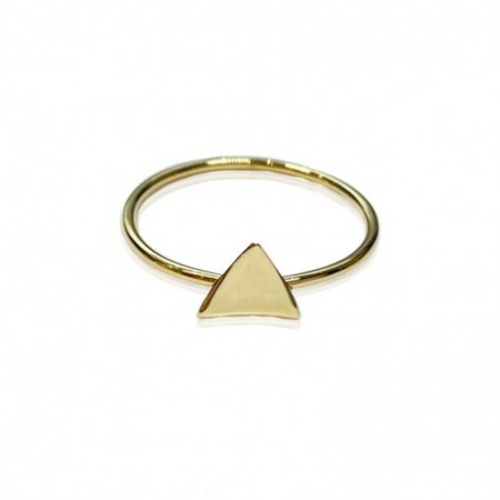 Golden Triangle Ring MY FIRST JEWEL