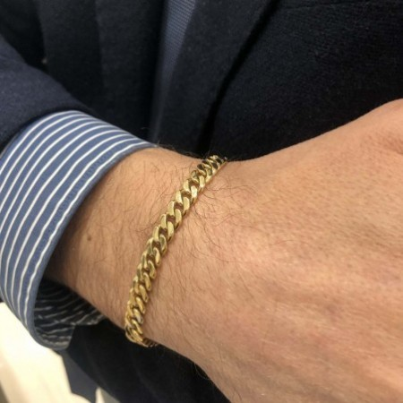 Gold 18kt BASIC GOLD bracelet