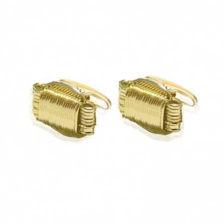 NUDO Gold Cufflinks.