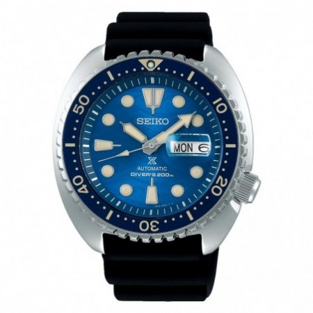 SEIKO PROSPEX DIVERS AUTOMATIC KING TURTLE SAVE THE OCEAN