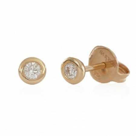Pendientes diamantes dormilonas CHATON