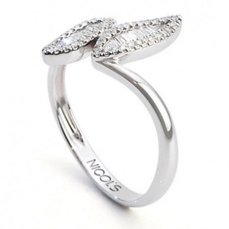 Anillo Compromiso DIAMOND LEAF