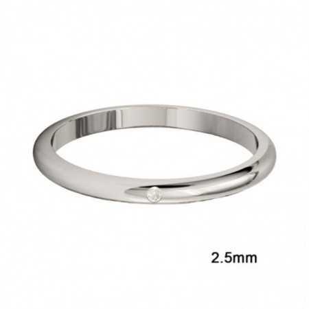 Wedding Ring ISIS DIAMOND 0.02