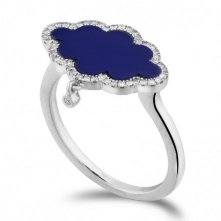 Lapislazuli Gold Ring OPAQUE STONES
