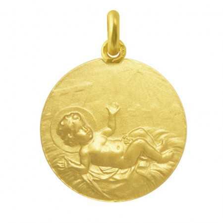 Medalla Niño Jesús Oro 18KT