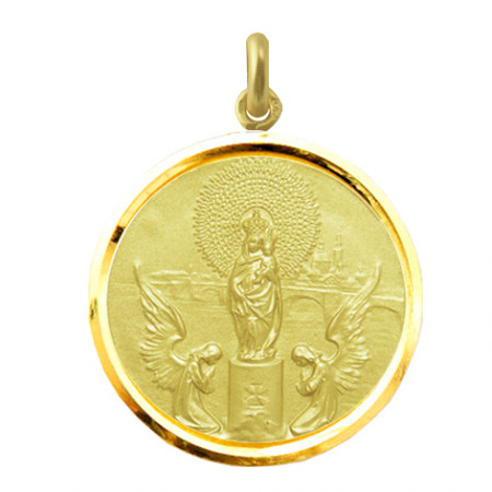 copy of Medalla Virgen del Pilar Oro 18kt