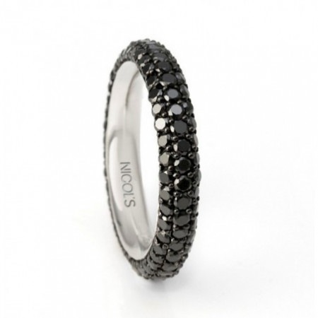 Anillo Diamantes BLACK POWER 2.50ct
