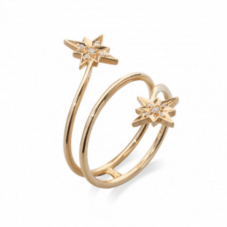 Anillo Estrella Fugaz Cola Doble LITTLE DETAILS
