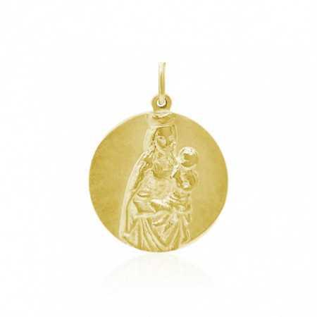 Medalla Virgen Colegio Montealto Oro 18kt