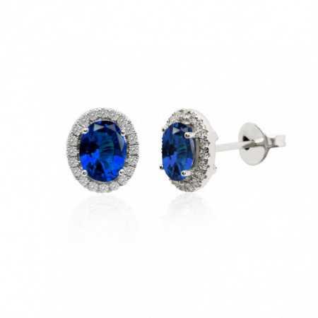Sapphire Earrings Orla LIA 1.96