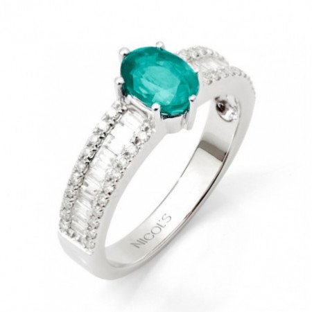 Anillo Esmeralda DIAMOND COLOUR