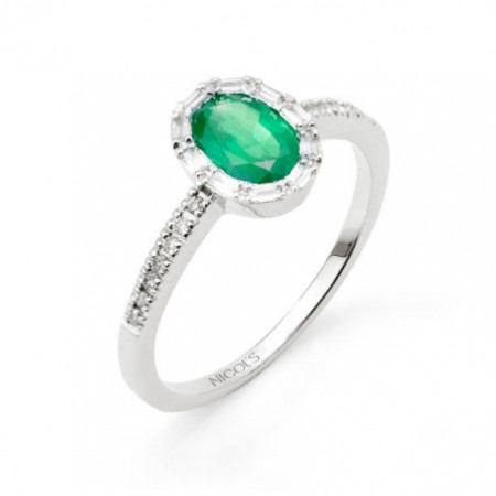 Anillo Esmeralda COLOUR OVAL