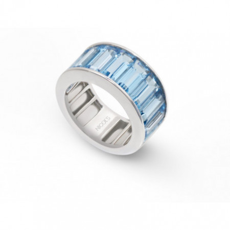 Blue Topaz Ring FLUOR NICOLS 19610380016