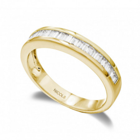 Anillo Compromiso Media Alianza DIAMOND CLASSIC