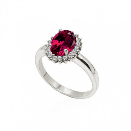Ruby Engagement Ring DALIA 1.30