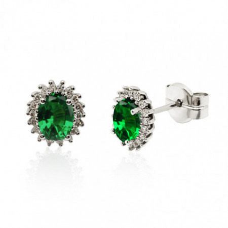 Emerald Earrings Orla DALIA 2.00