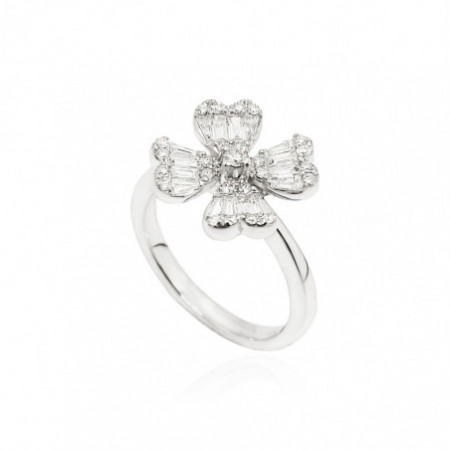 TREBOL Diamond Ring.