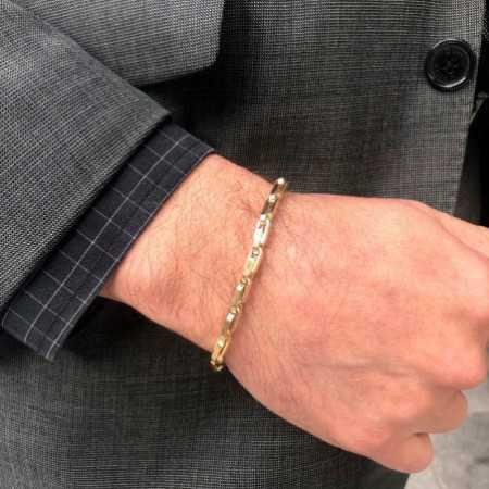 18kt Gold Bracelet DAILY 21cm