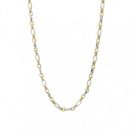 18kt Gold Chain ALTERNATE LINK 50cm