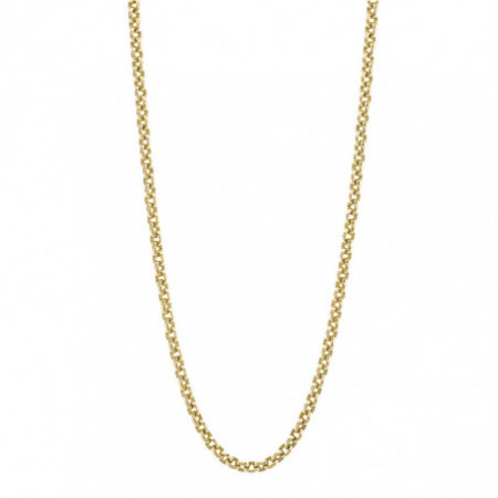 18kt Gold Chain OVAL LINK 8x6 60cm