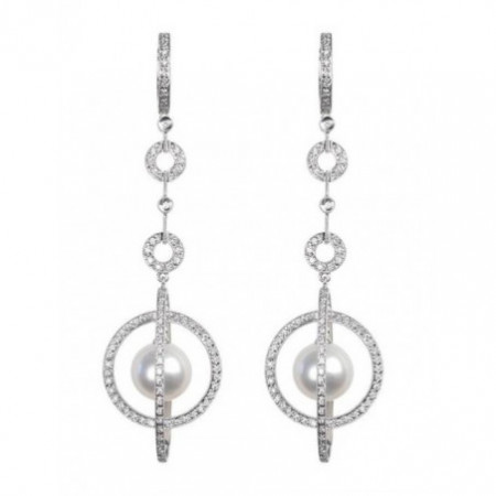 Pearl Bridal Earrings LADY PEARLS