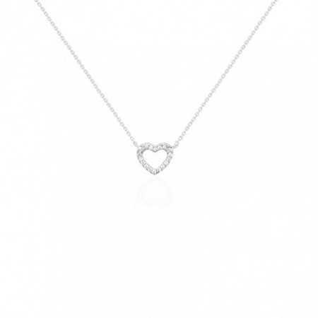 Diamond Heart Pendant NICOLS