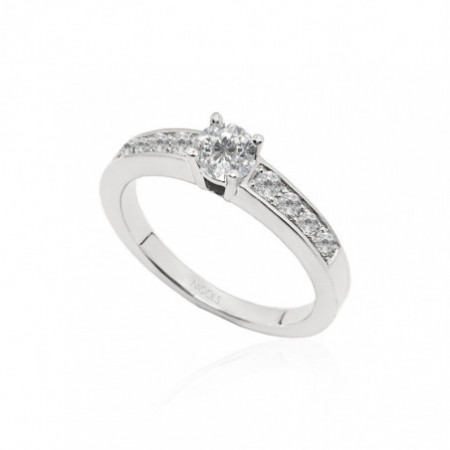 Solitaire Ring AMELIE 0.35ct.