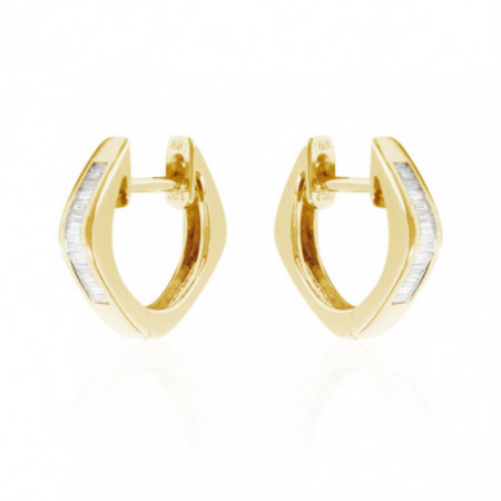 Diamond Earrings ARO CRIOLLA BAGUETTE.