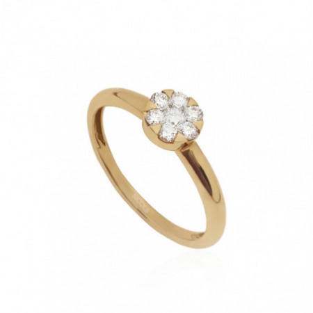 DIAMOND CLASSIC Rosette Diamond Ring.
