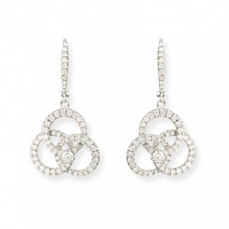 Diamond Earrings Circles ESSENTIALS