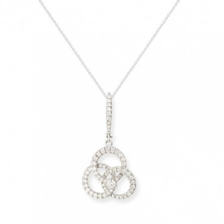 Diamonds Circle Pendant ESSENTIALS